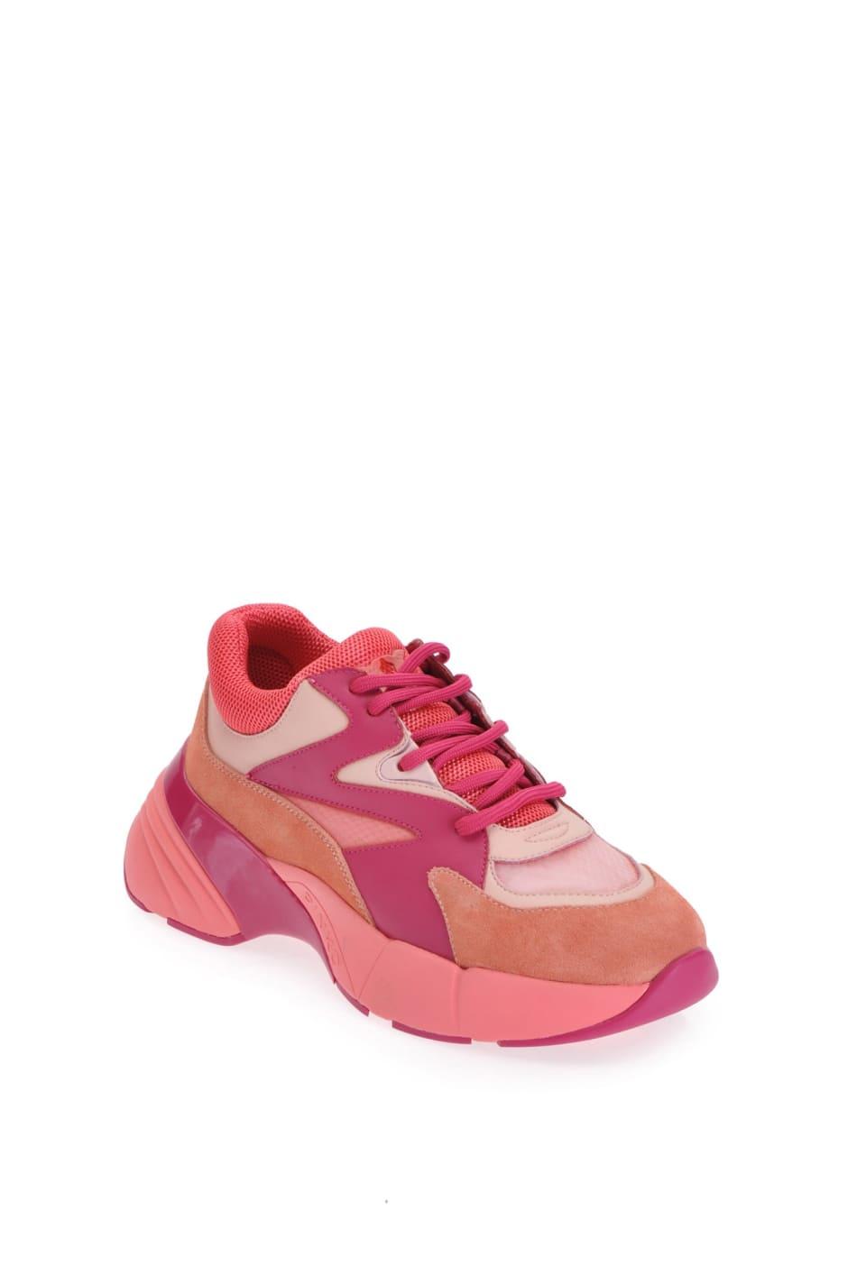 Oversize sneakers in pelle - Pinko