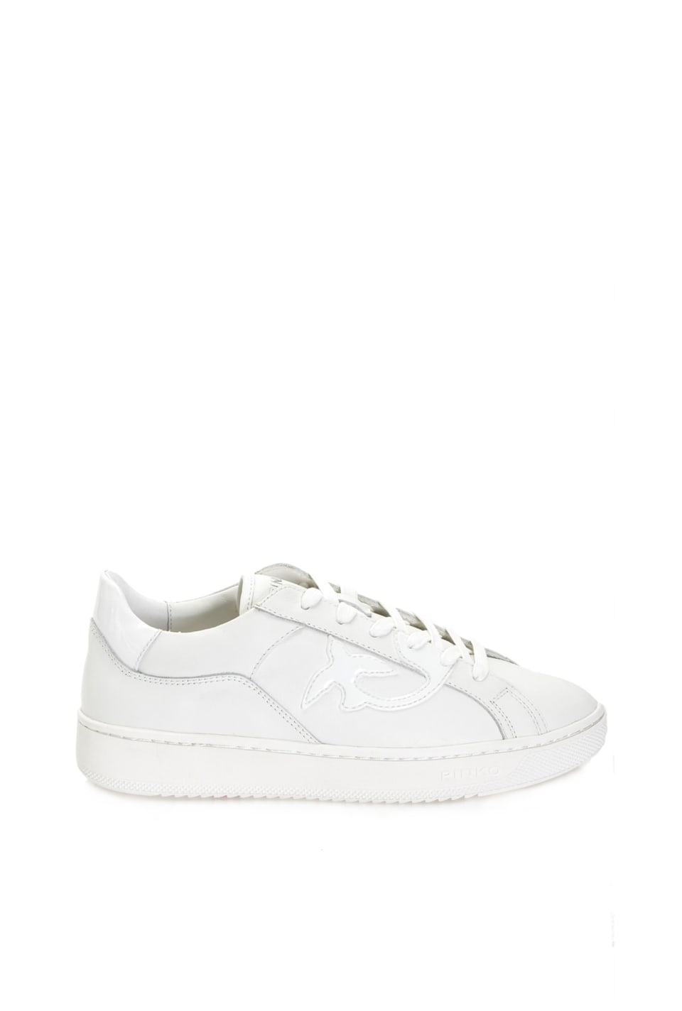 平底皮革运动鞋