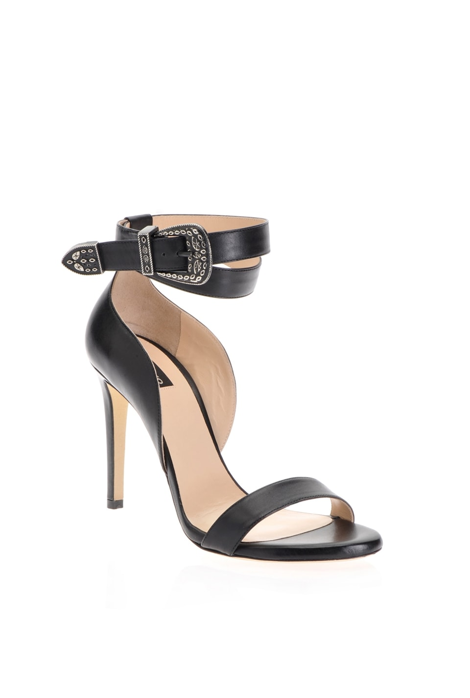 Sandals with ankle strap