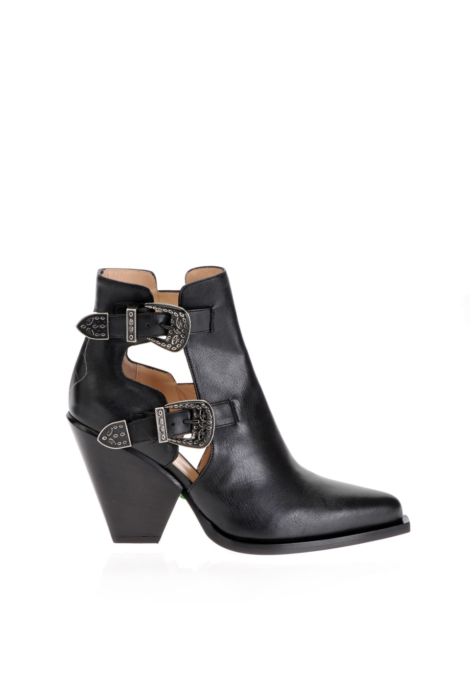 Cowboy ankle boots with openings - Pinko