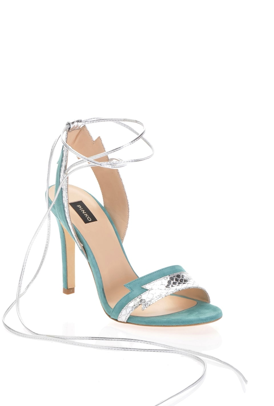 Sandals with ankle laces - Pinko