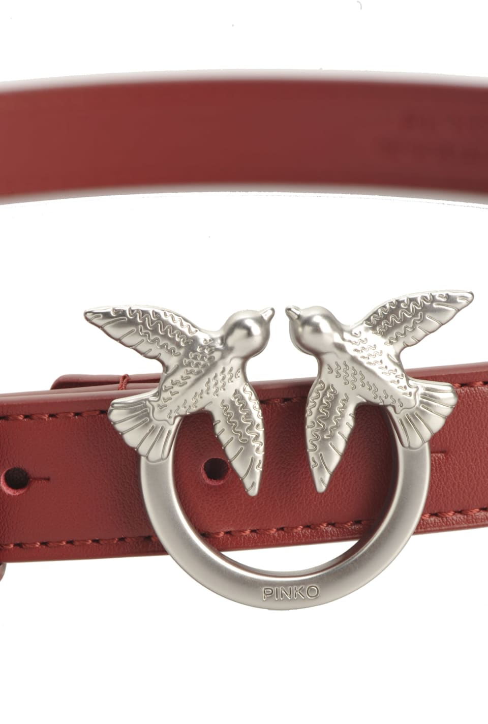 Cinturón bajo con hebilla Love Birds