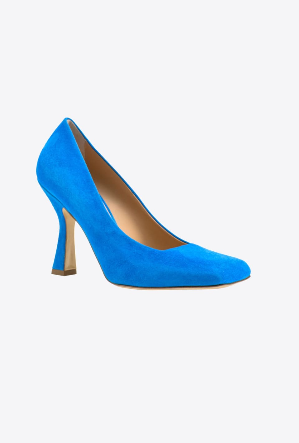 Square toe suede pumps - Pinko