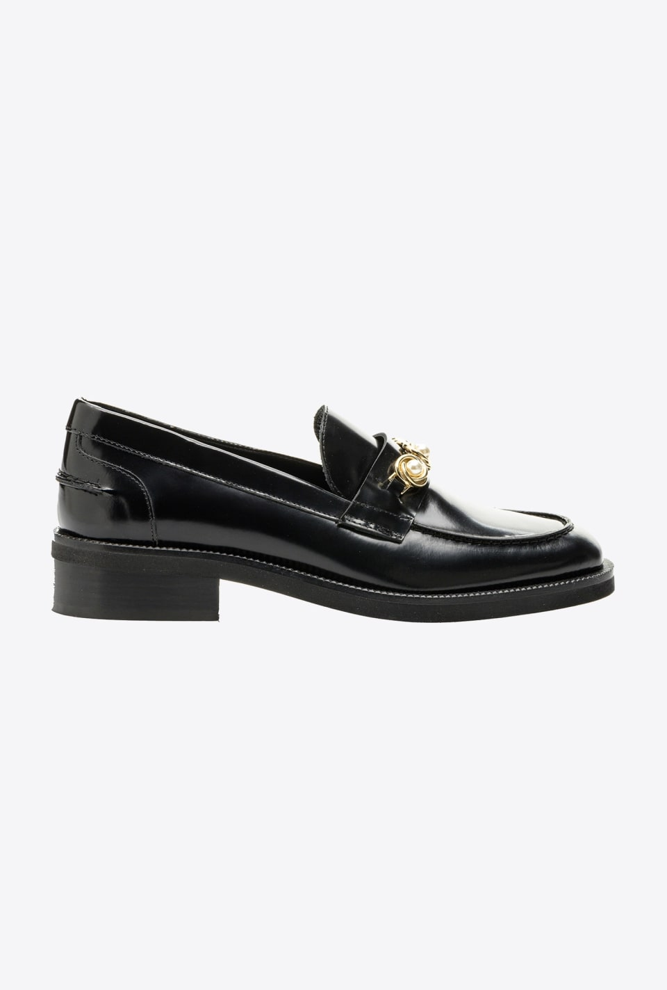 Loafers with jewel details - Pinko