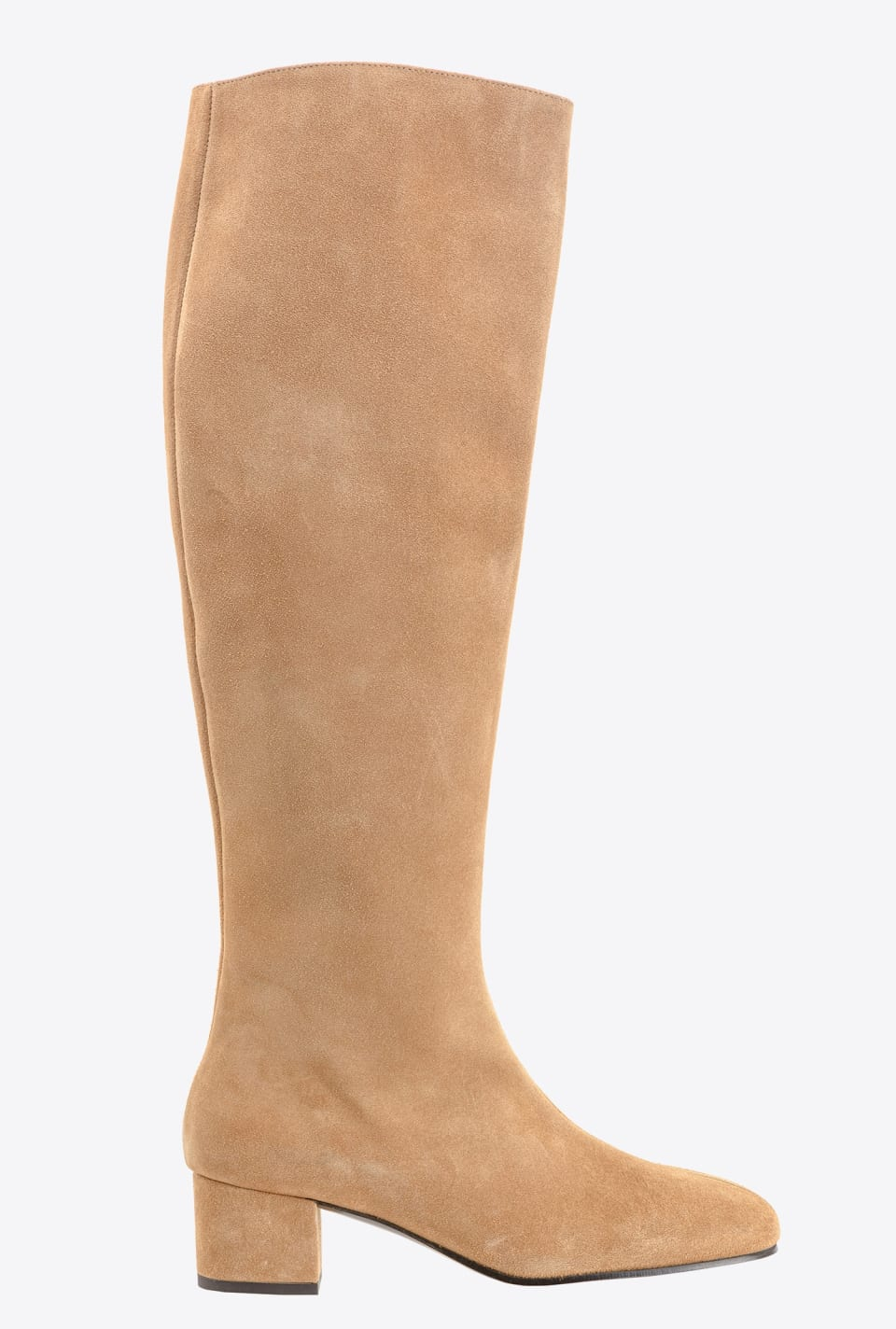 Knee-high suede boots - Pinko