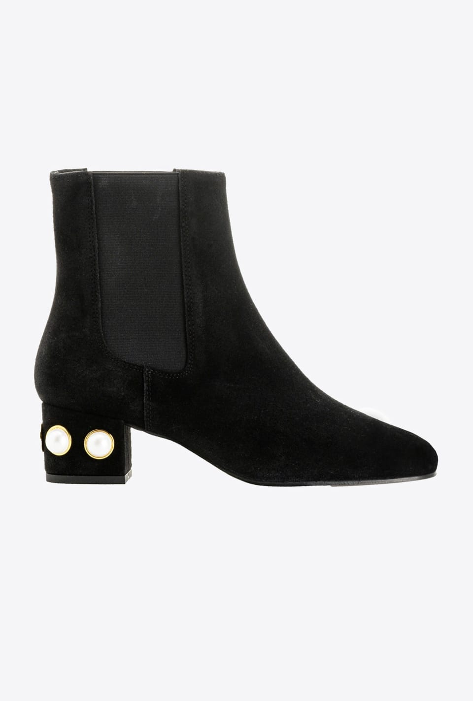 Ankle boots with decorated heel - Pinko