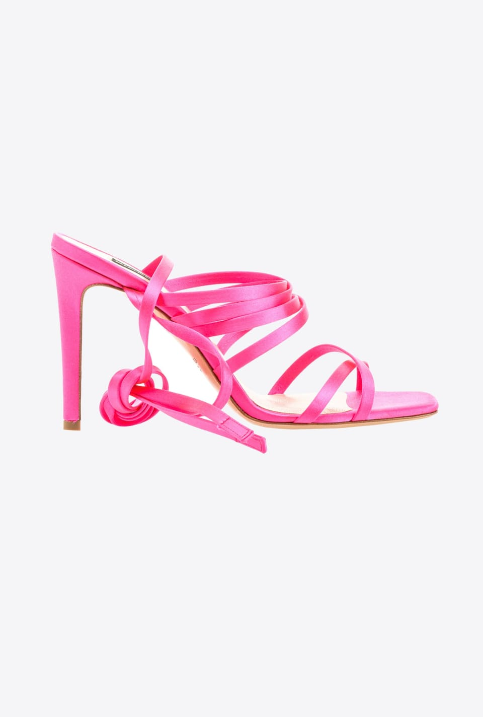 Sandals with satin ribbons - Pinko