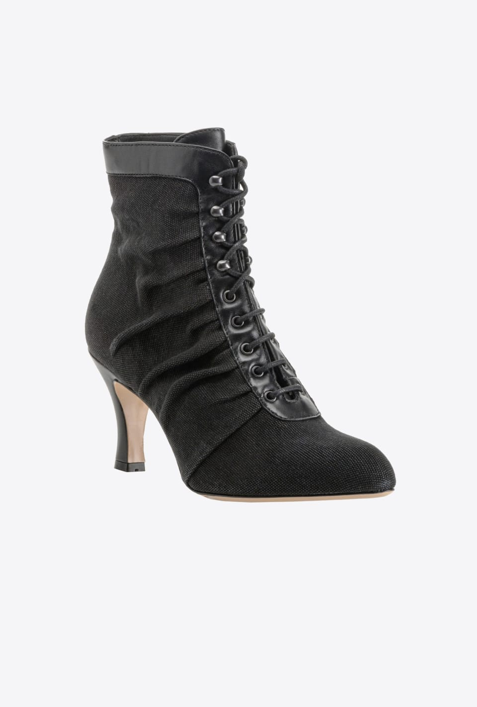 Ankle boots with laces and high heels - Pinko