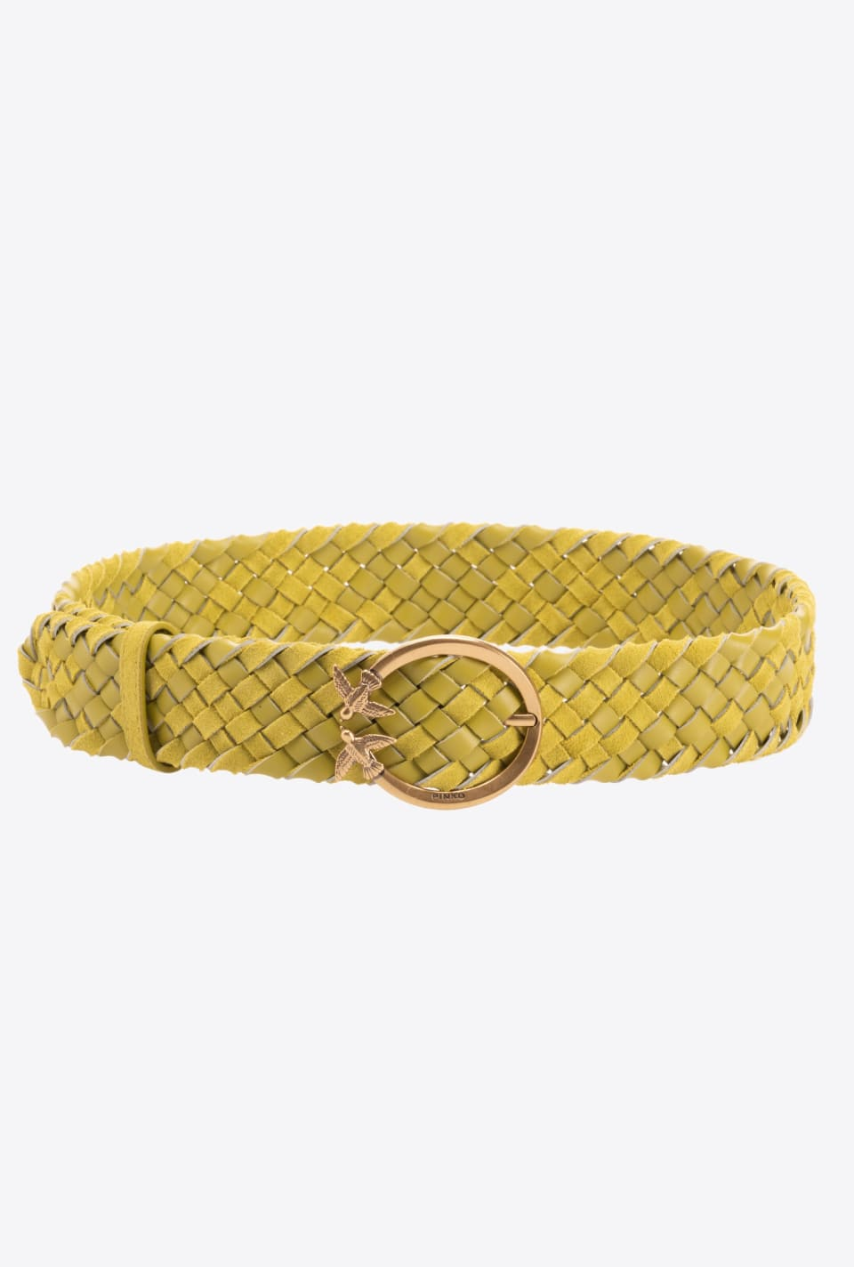 Braided suede Love Birds belt - Pinko