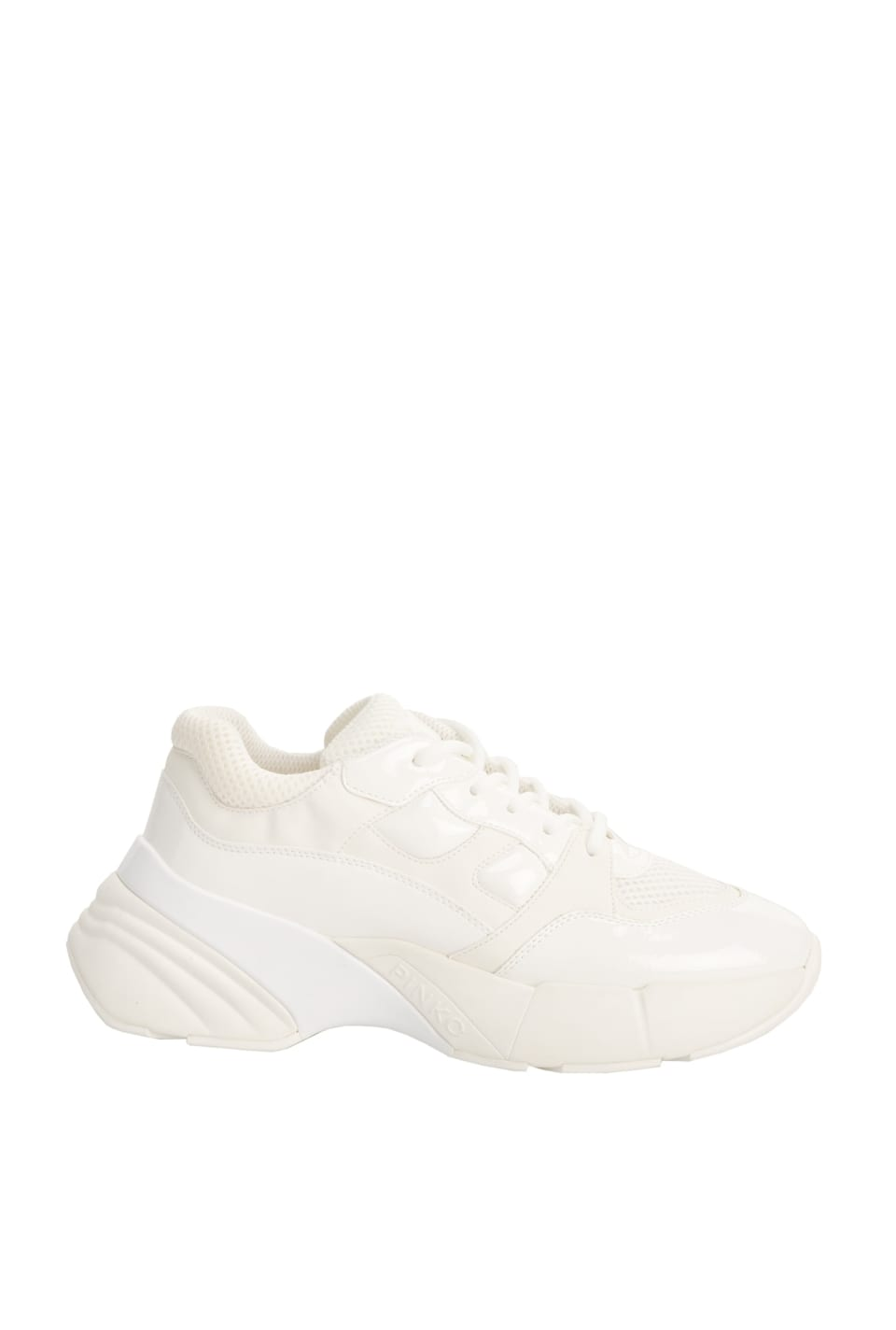 Oversized Monochrome Sneakers - Pinko