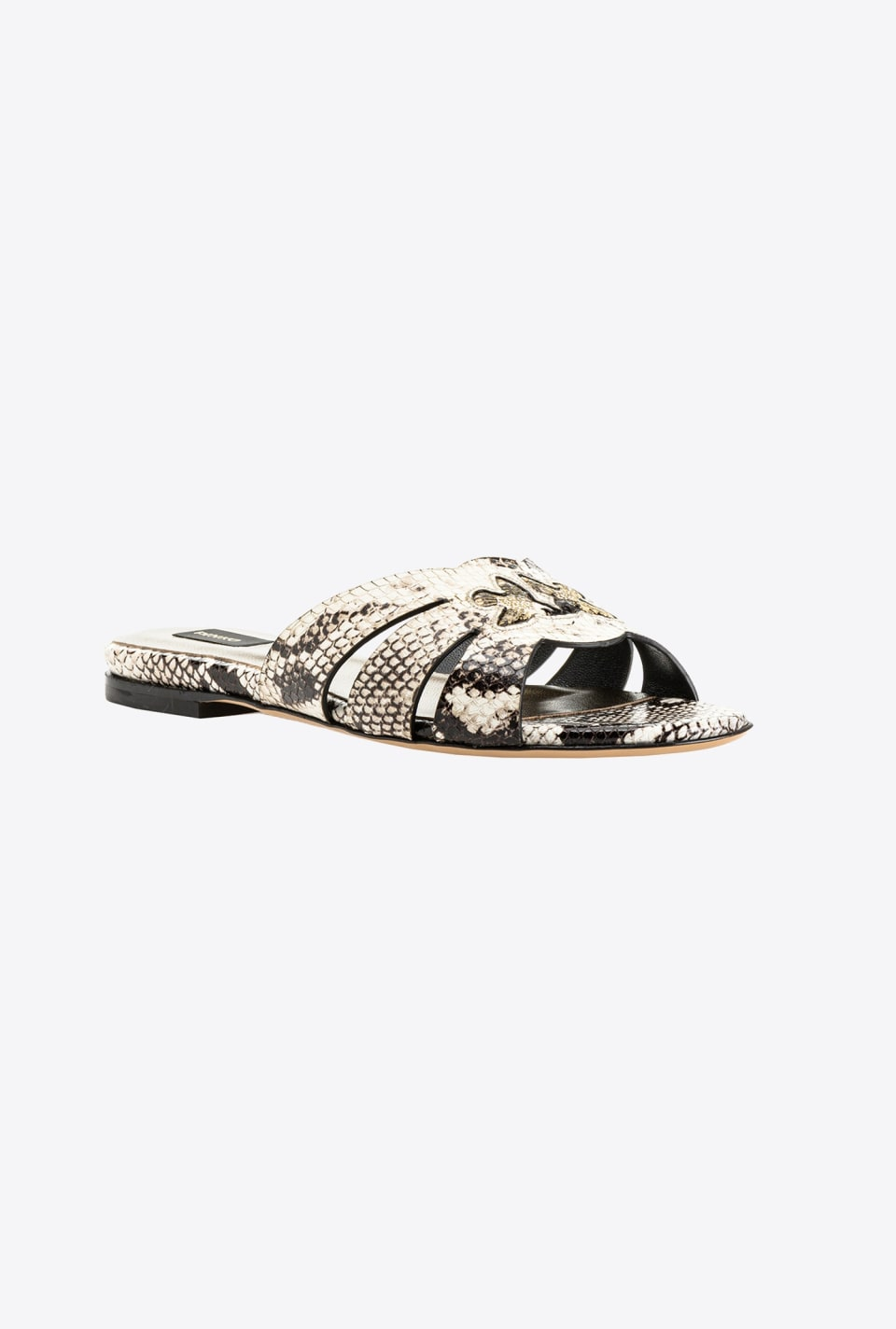 Python-print flat sandals - Pinko