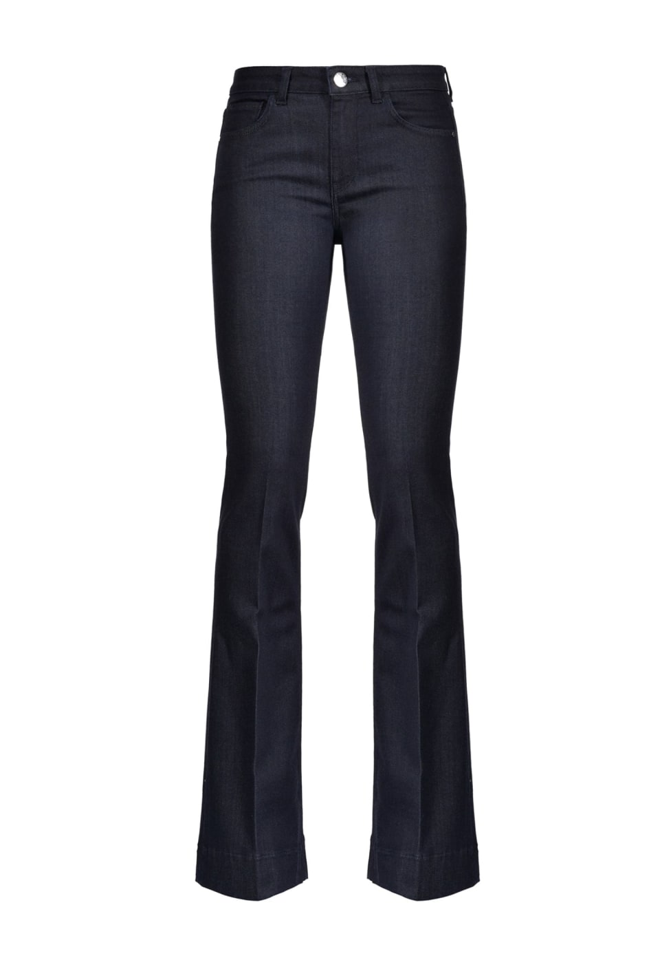Flare jeans in stretch twill denim