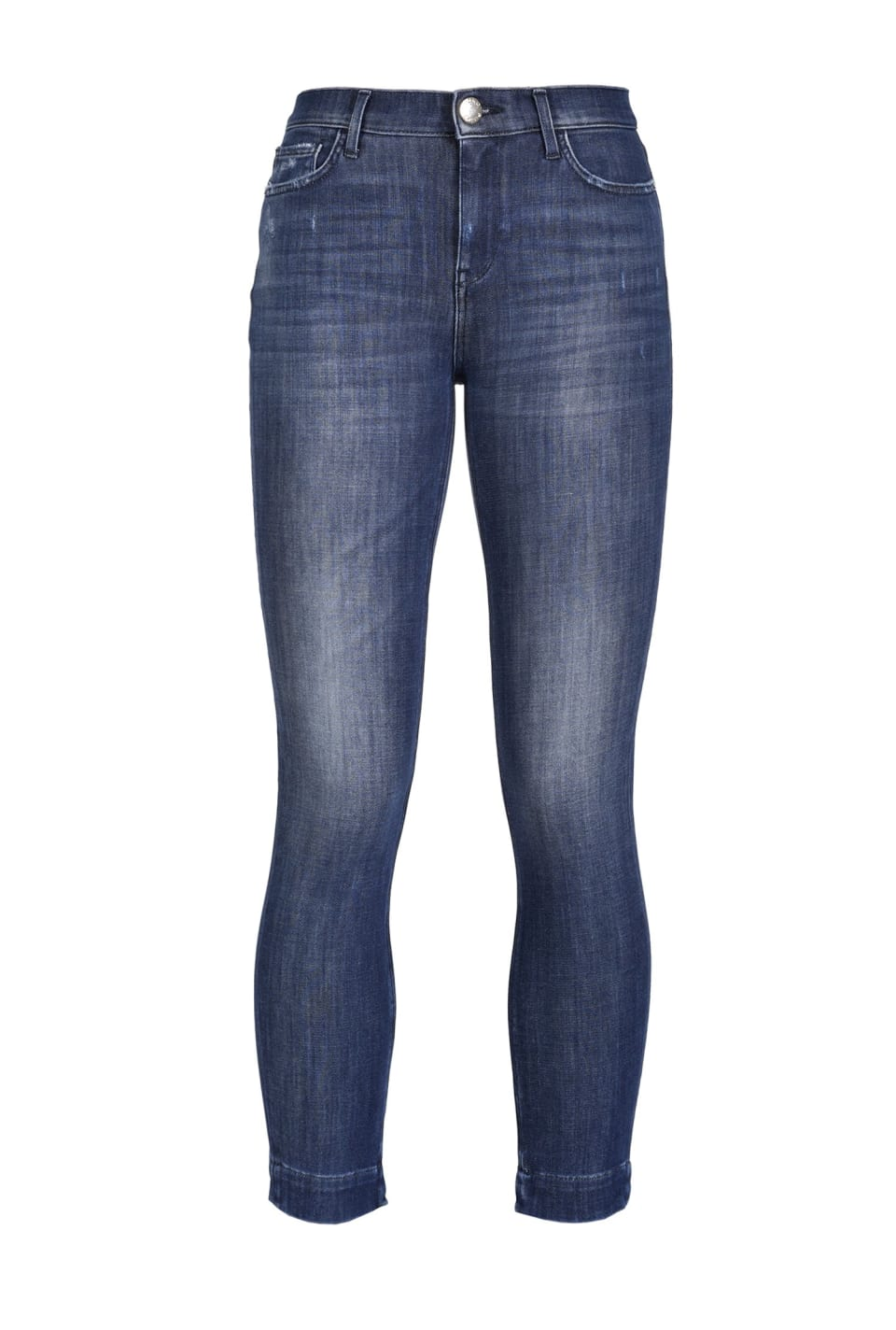 Skinny fit jeans in two-way stretch denim