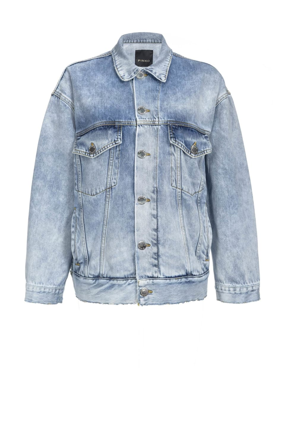Faded jeans jacket - Pinko