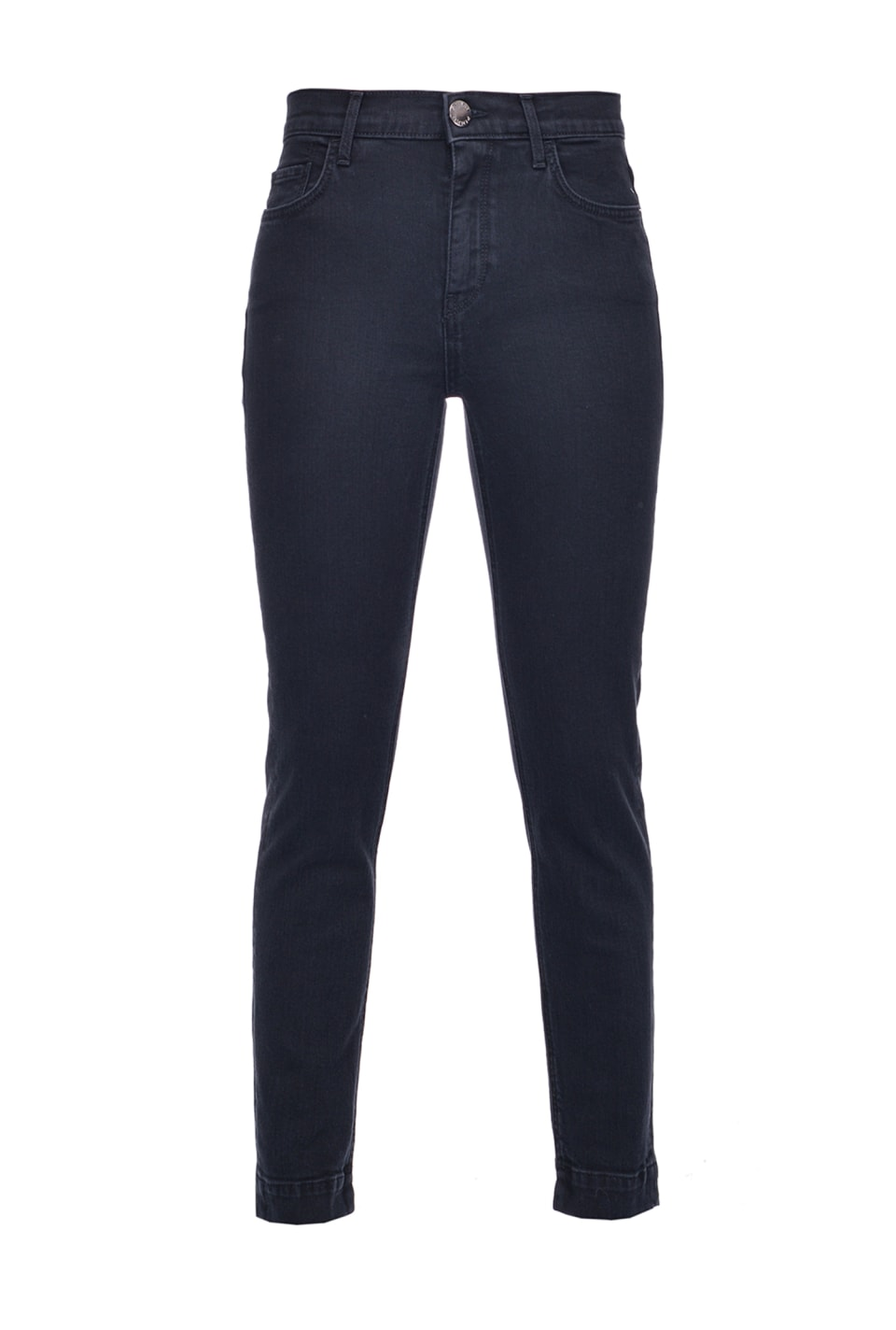 Skinny jeans in black stretch denim