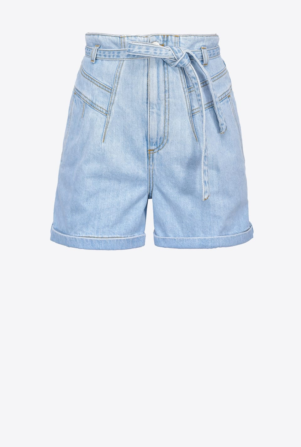 Shorts in vintage denim - Pinko