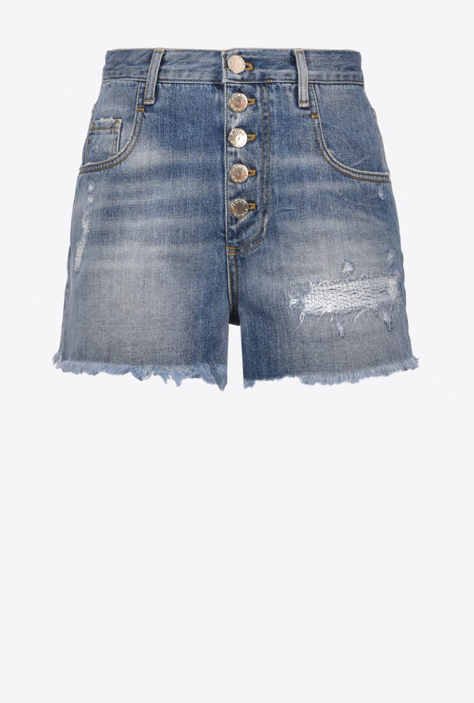 Denim vintage shorts - Pinko