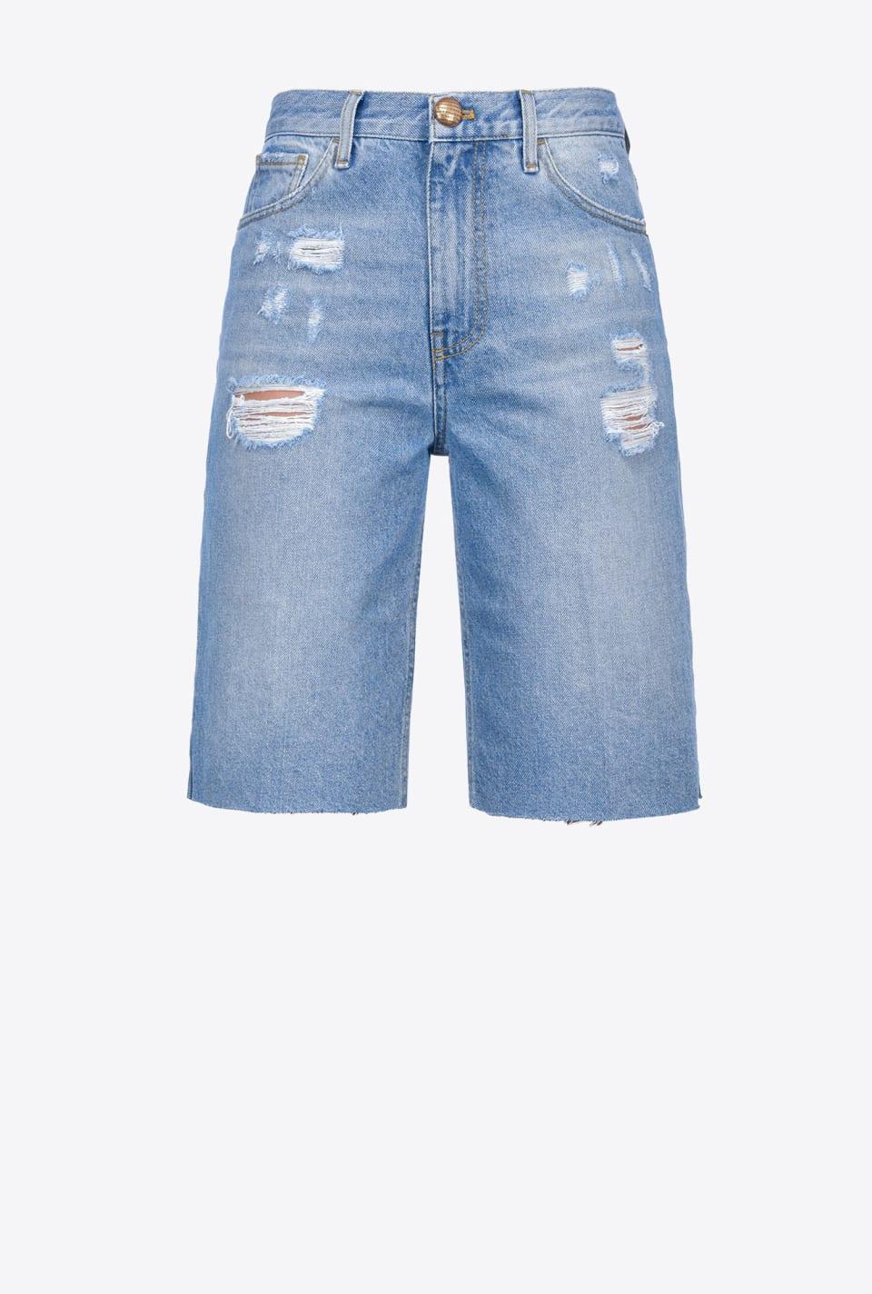 Vintage denim Bermuda shorts - Pinko