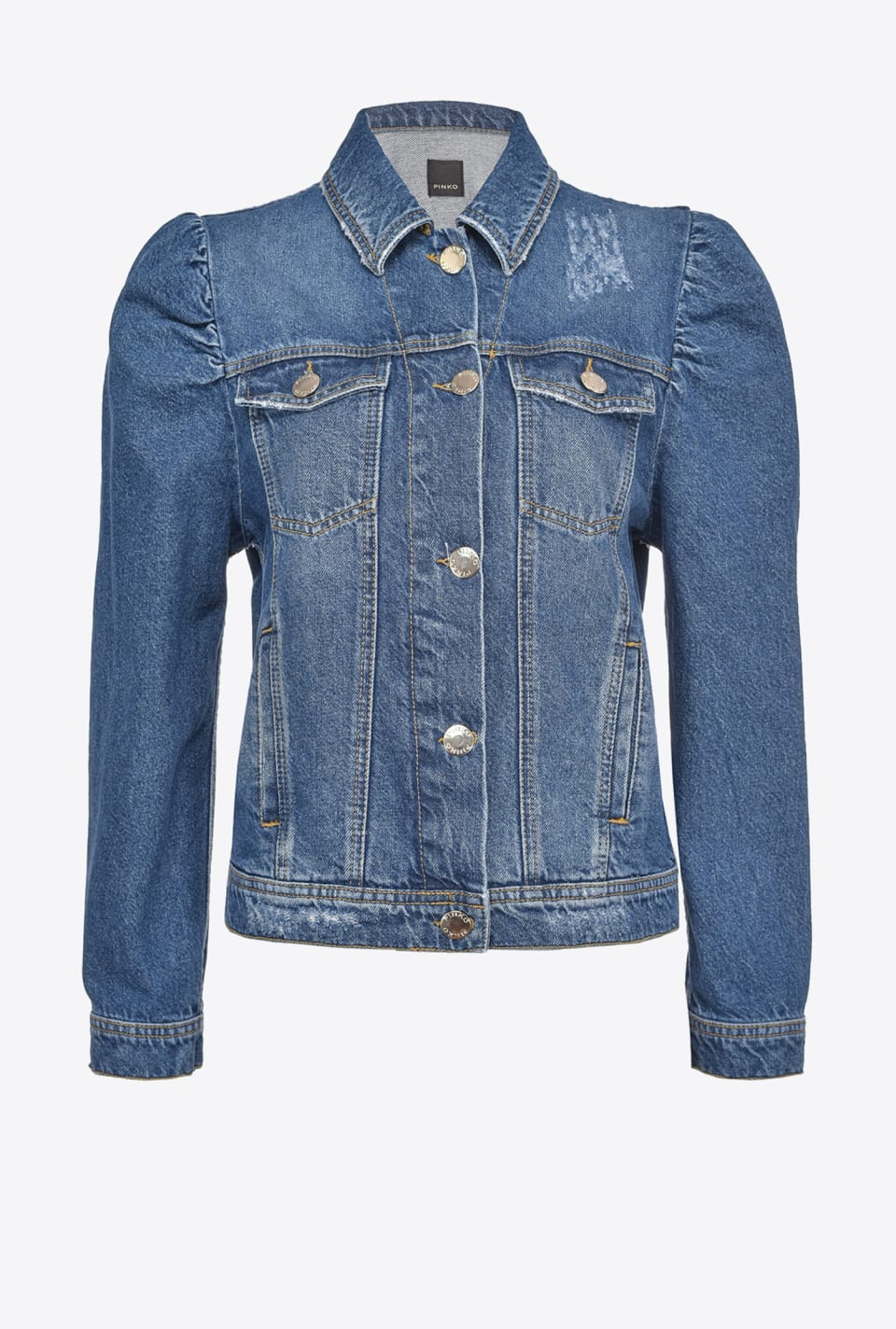 Short denim jacket - Pinko