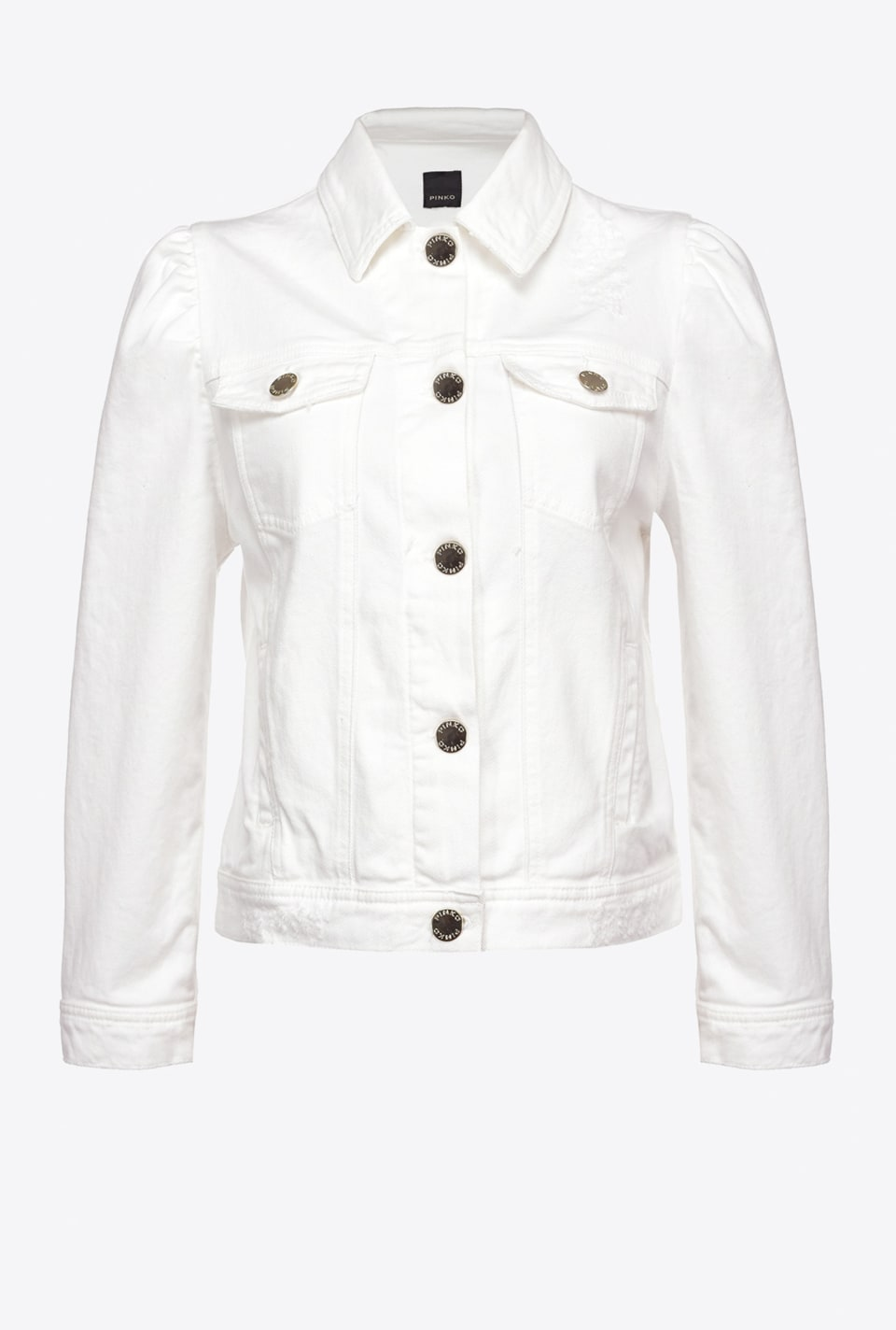 Short jacket in cotton bull - Pinko