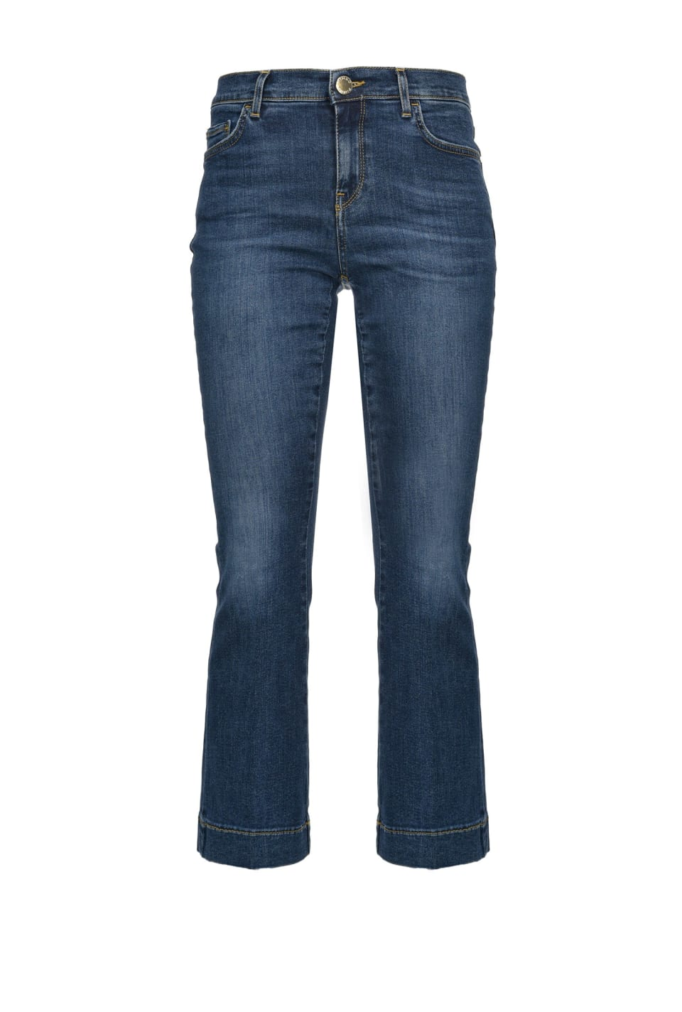 Flare-Fit-Jeans aus Stretch-Twilldenim - Pinko