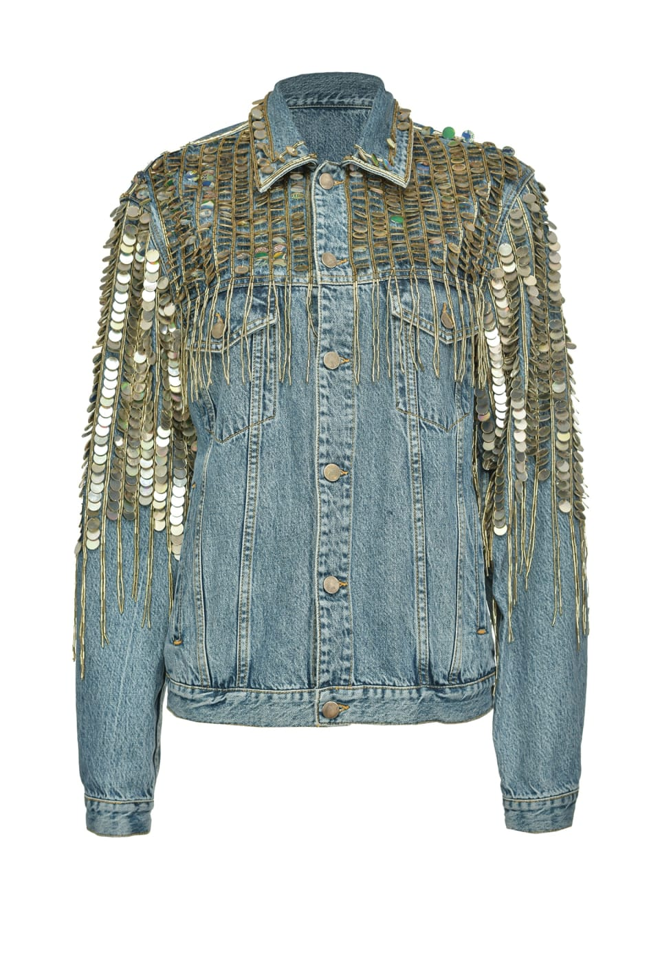 Re-Glam denim jacket - Pinko