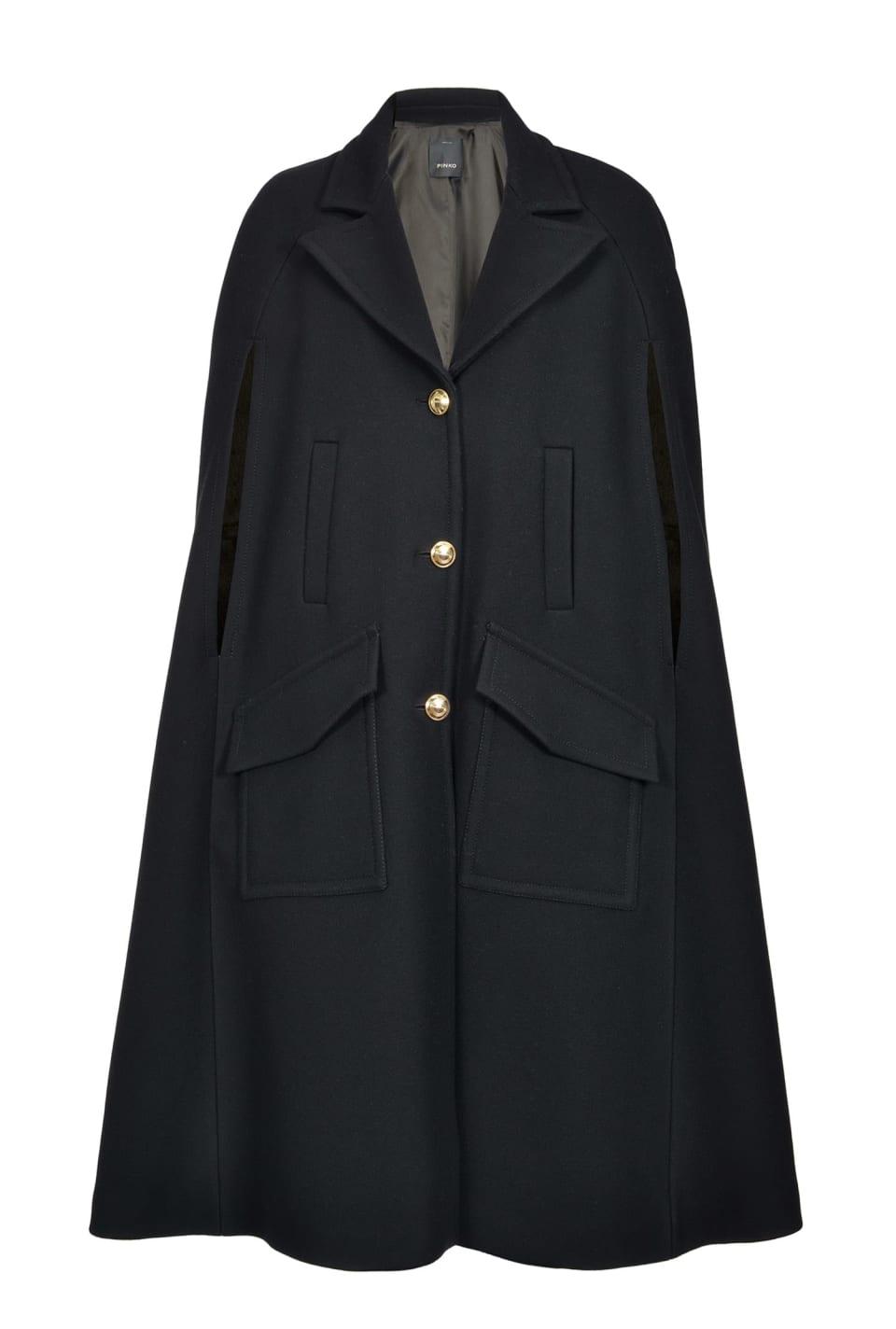 Melton cape