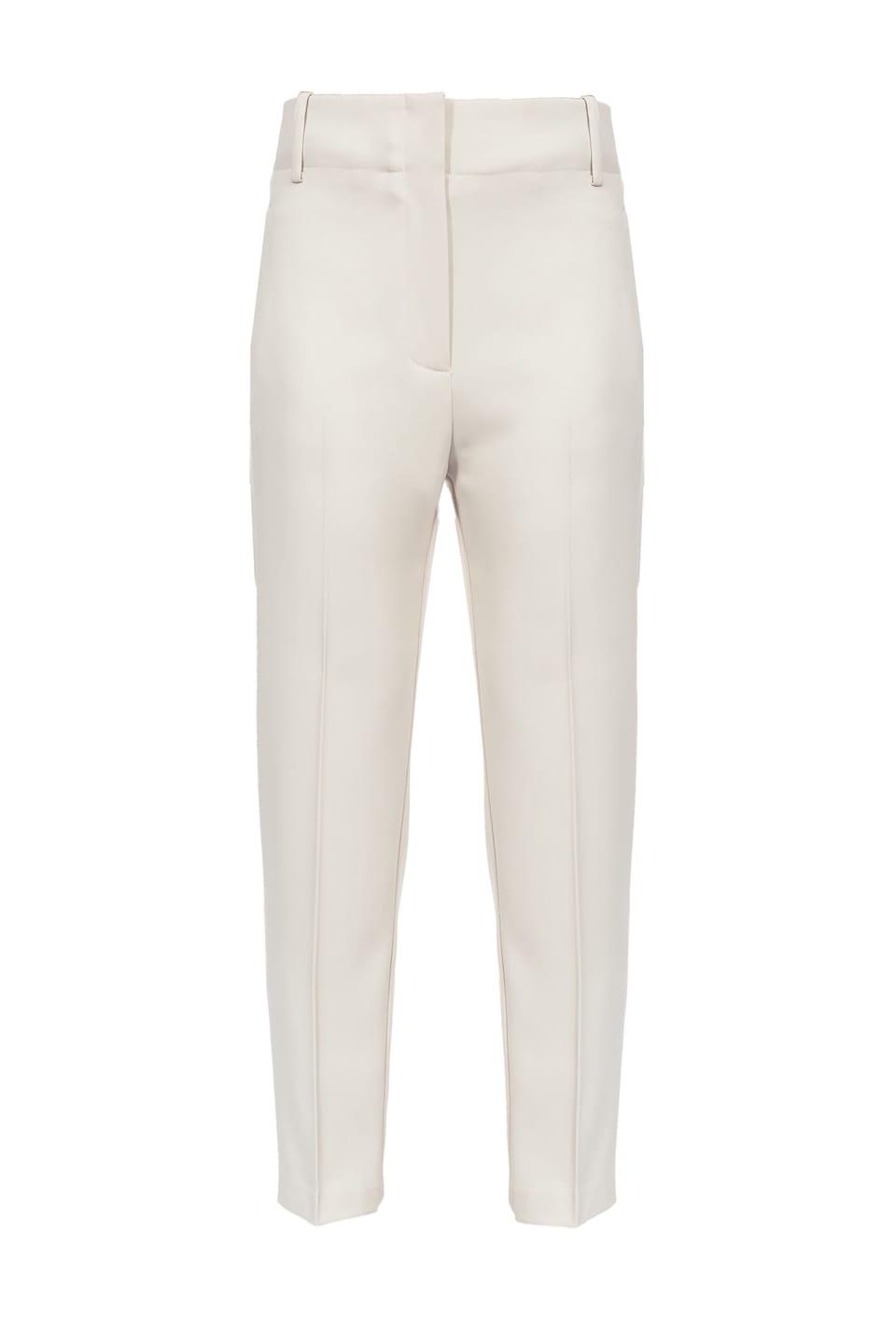 Pantaloni classici in crêpe