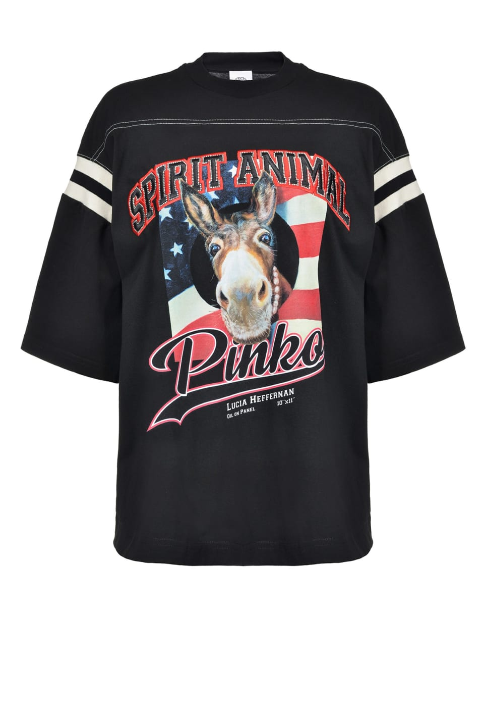 """Spirit Animal"" T-shirt - Pinko"