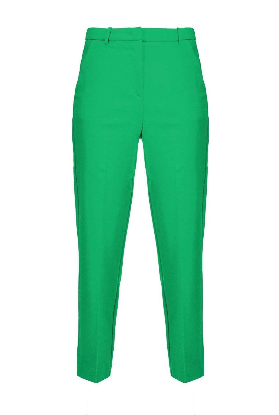 Pantaloni punto stoffa