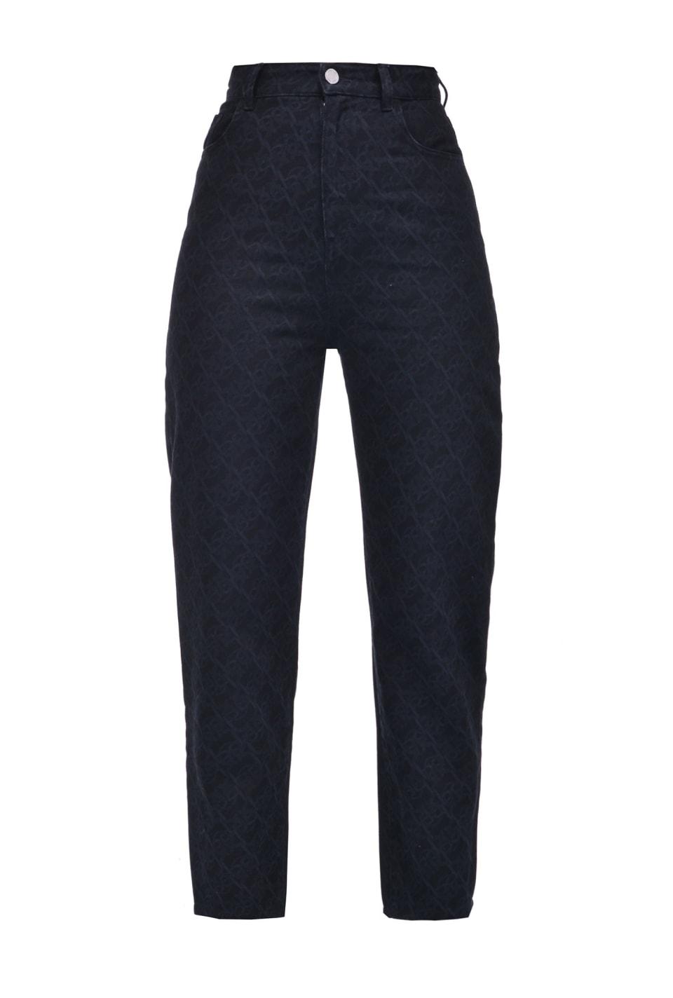 Monogram牛仔裤