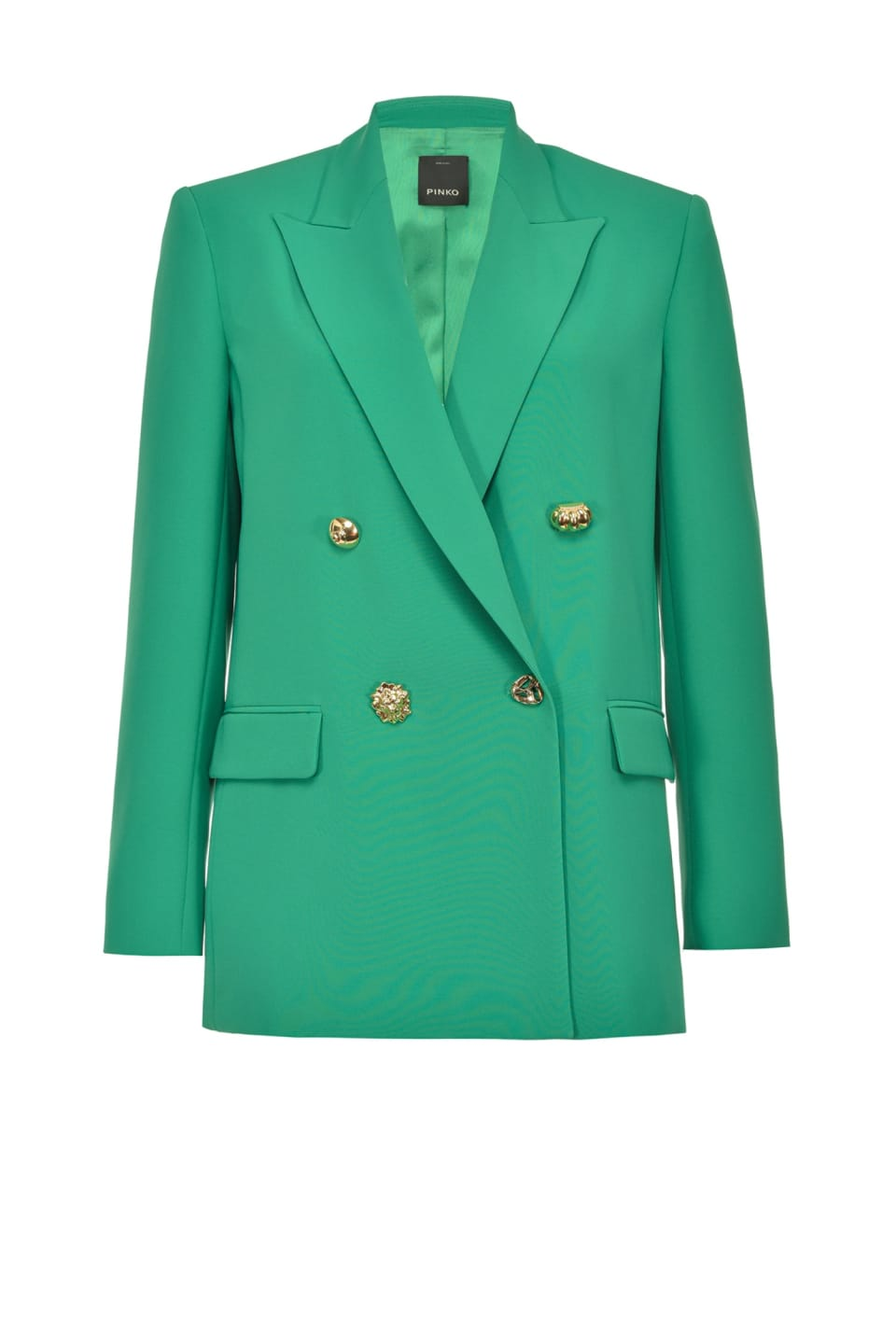 Color blazer in technical fabric - Pinko