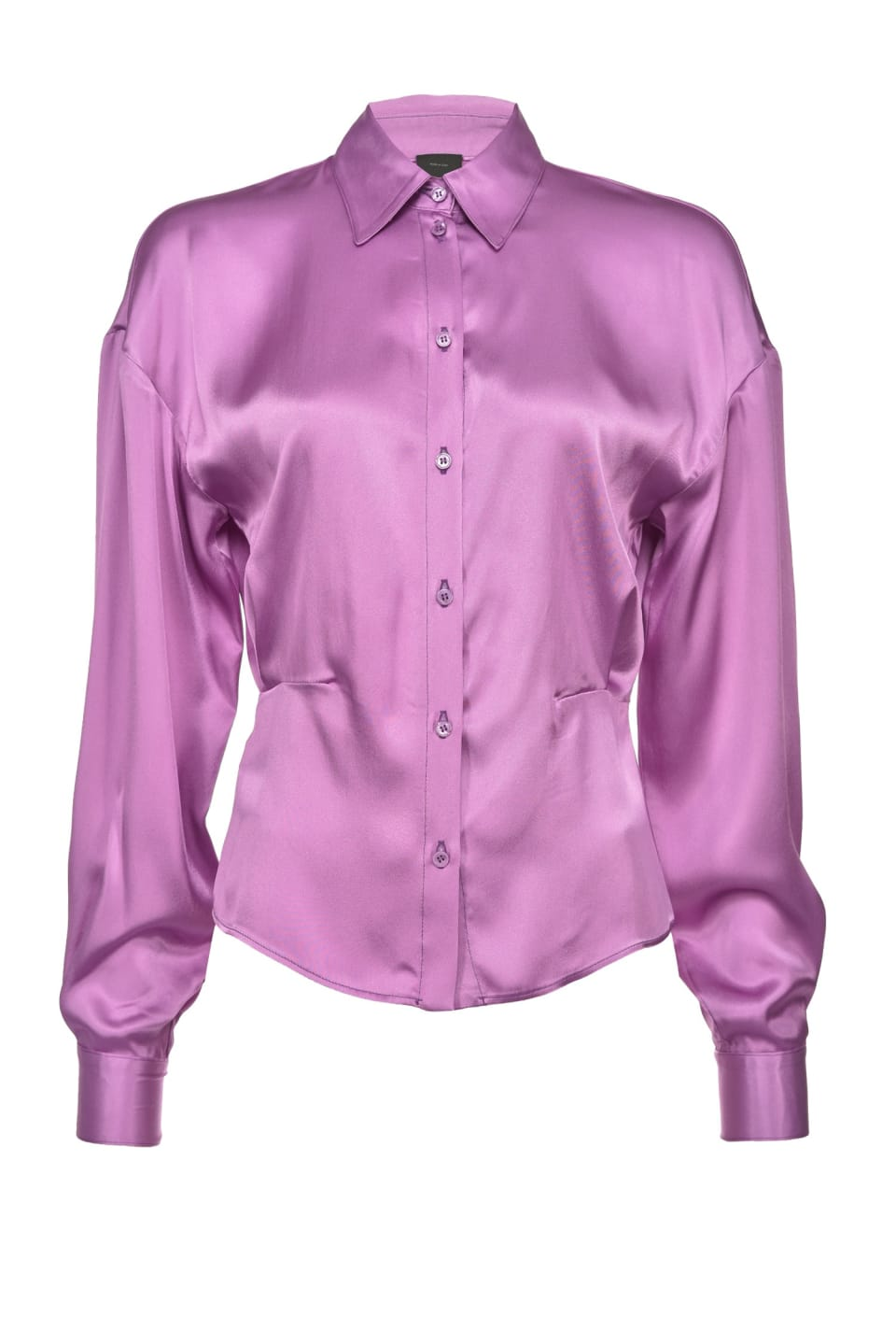 Acetate silk satin shirt
