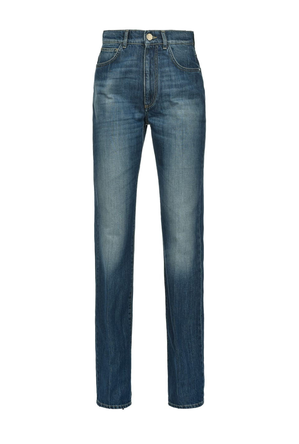 Snug-fitting straight jeans