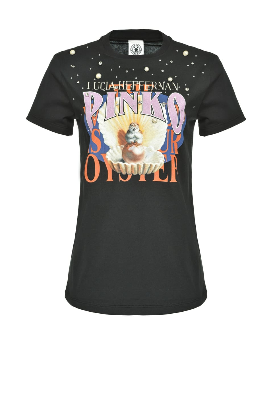 T-shirt « The World Is Your Oyster » - Pinko