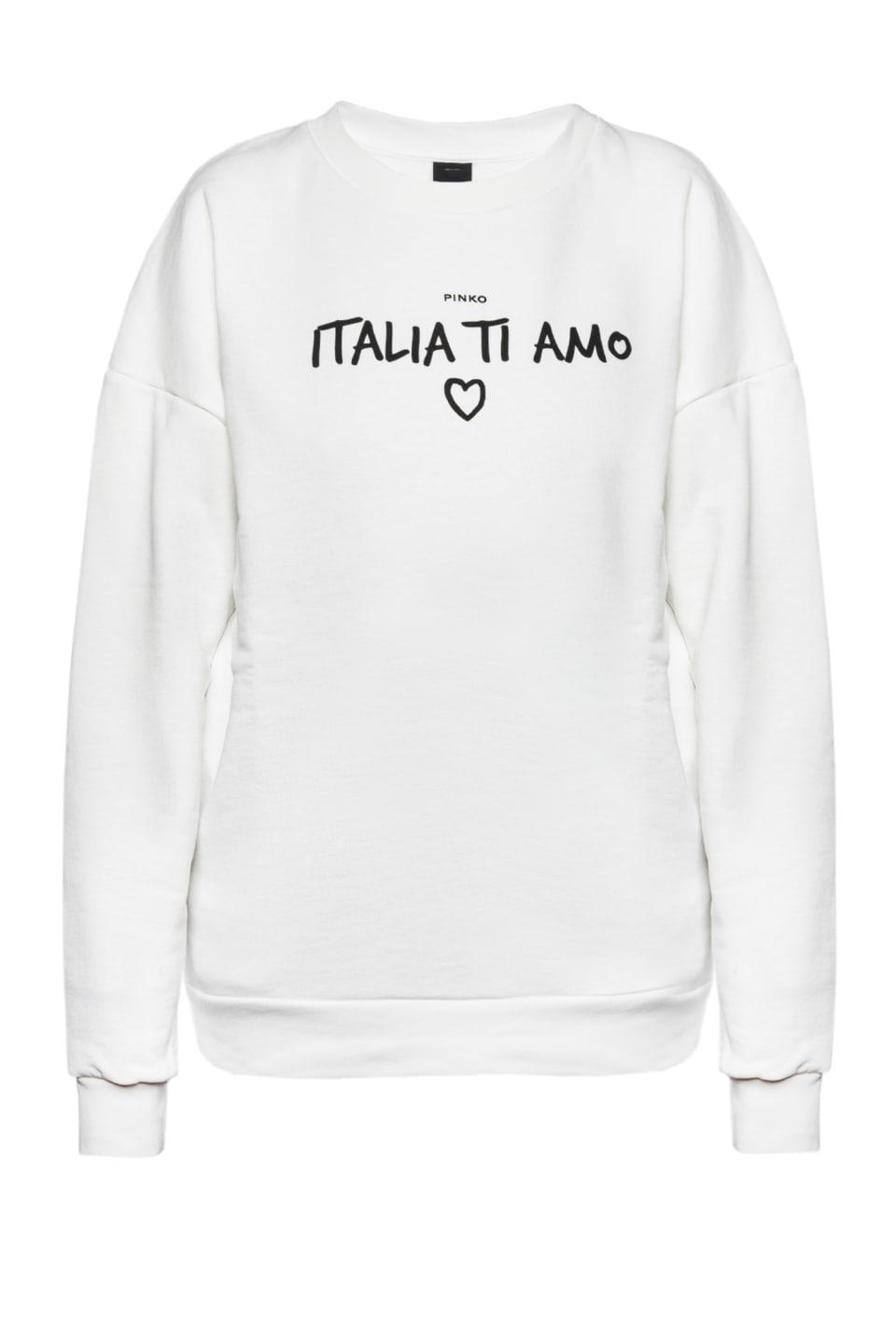 """Italia Ti Amo"" sweatshirt"