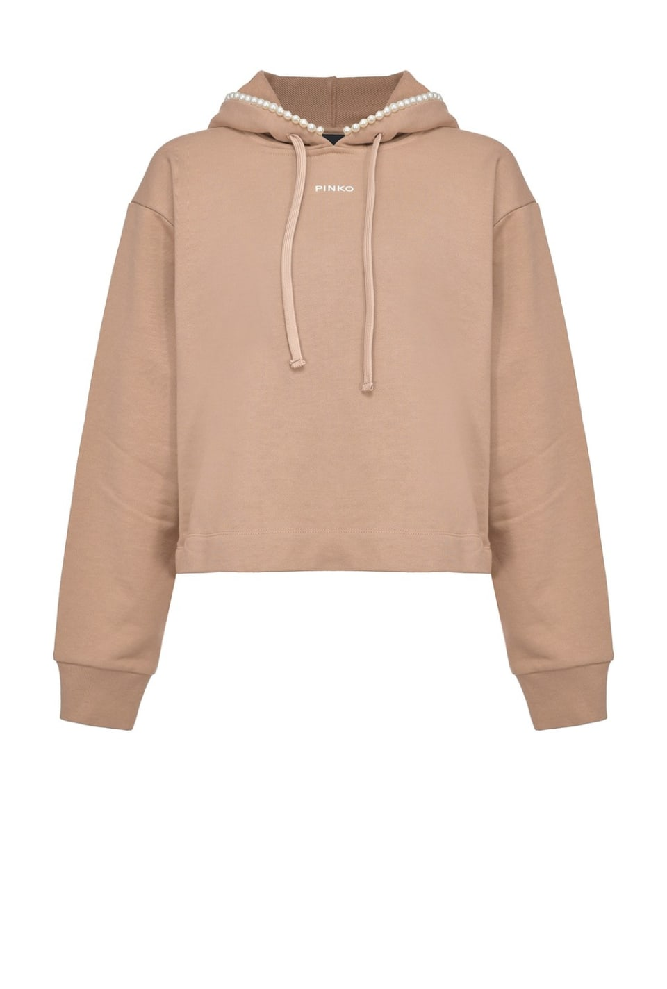 Sweat-shirt avec perles - Pinko