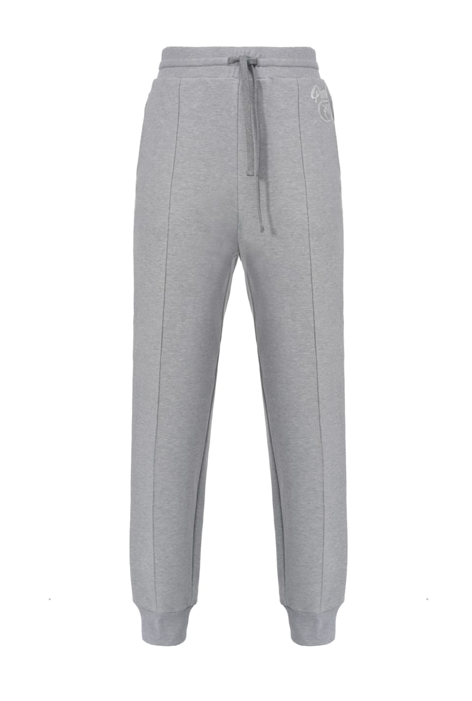 Pantalon de jogging en molleton logo Love Birds - Pinko