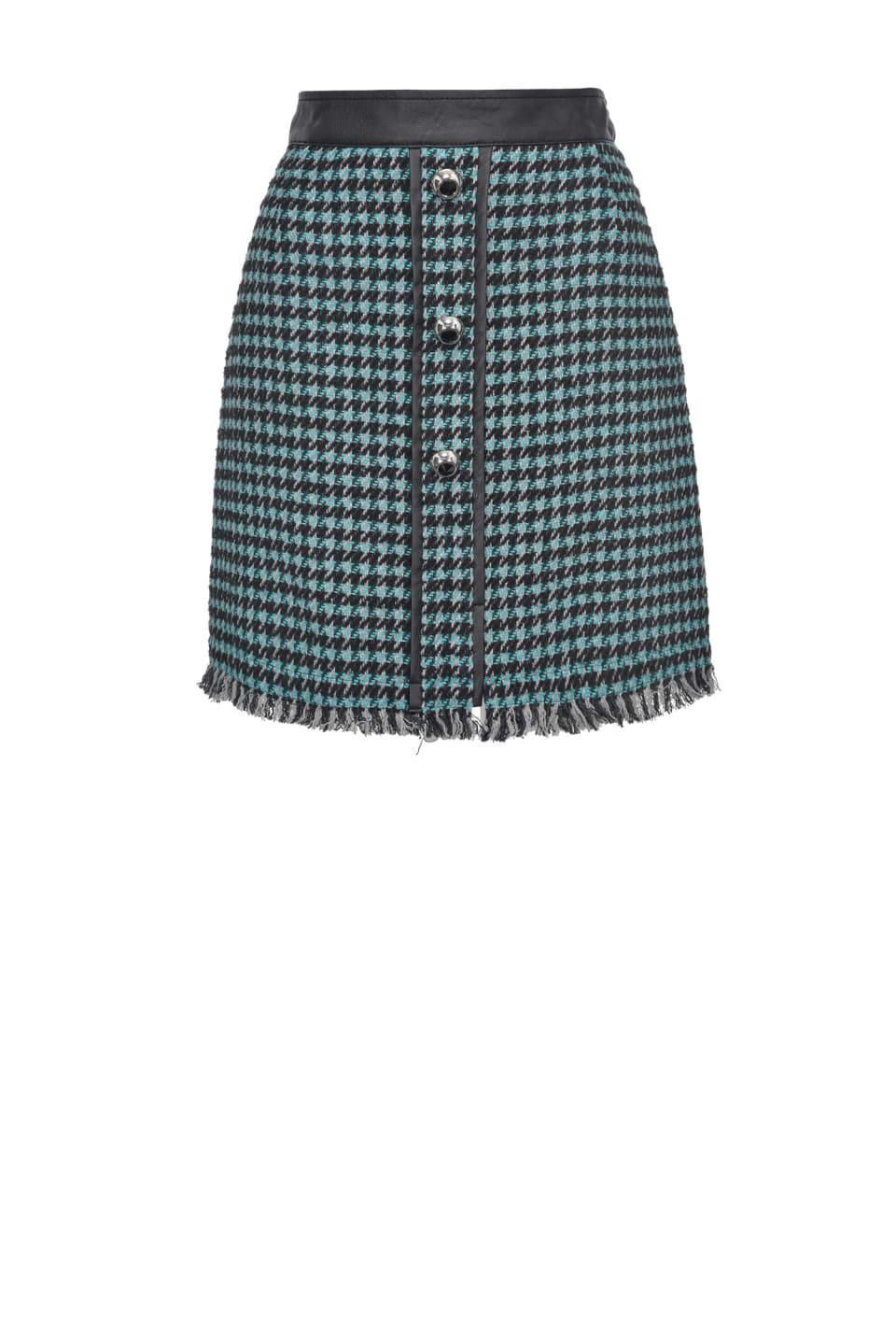 Mini-jupe en tweed - Pinko