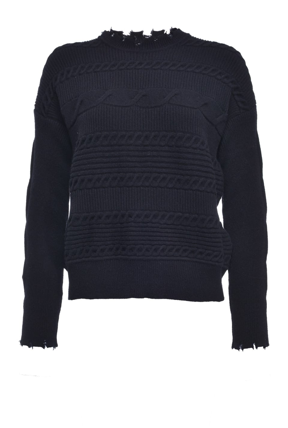 Horizontal cable pullover - Pinko