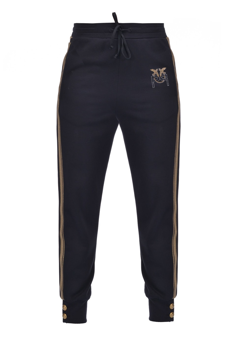 Fleece Monogram joggers - Pinko