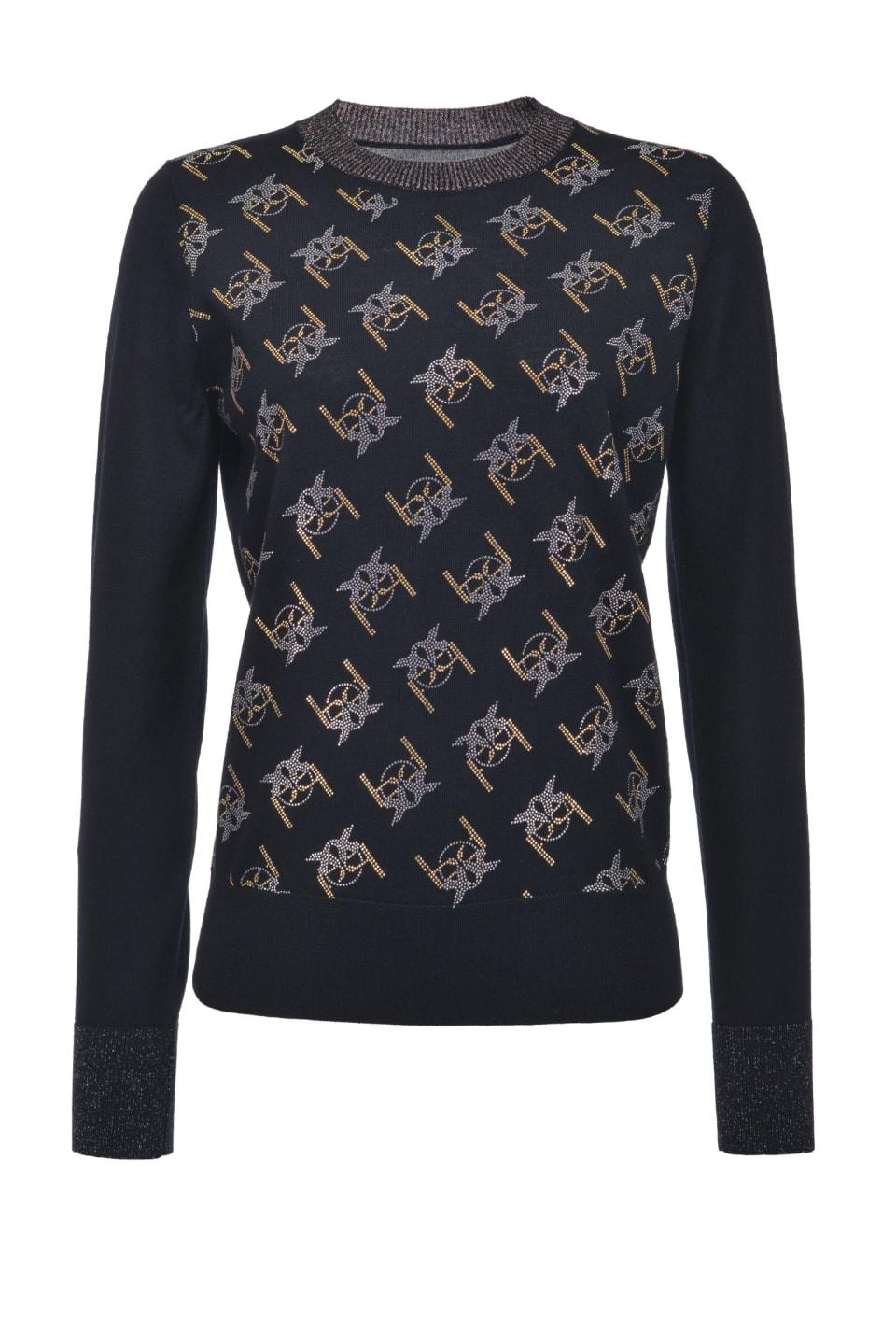 Monogram pullover - Pinko