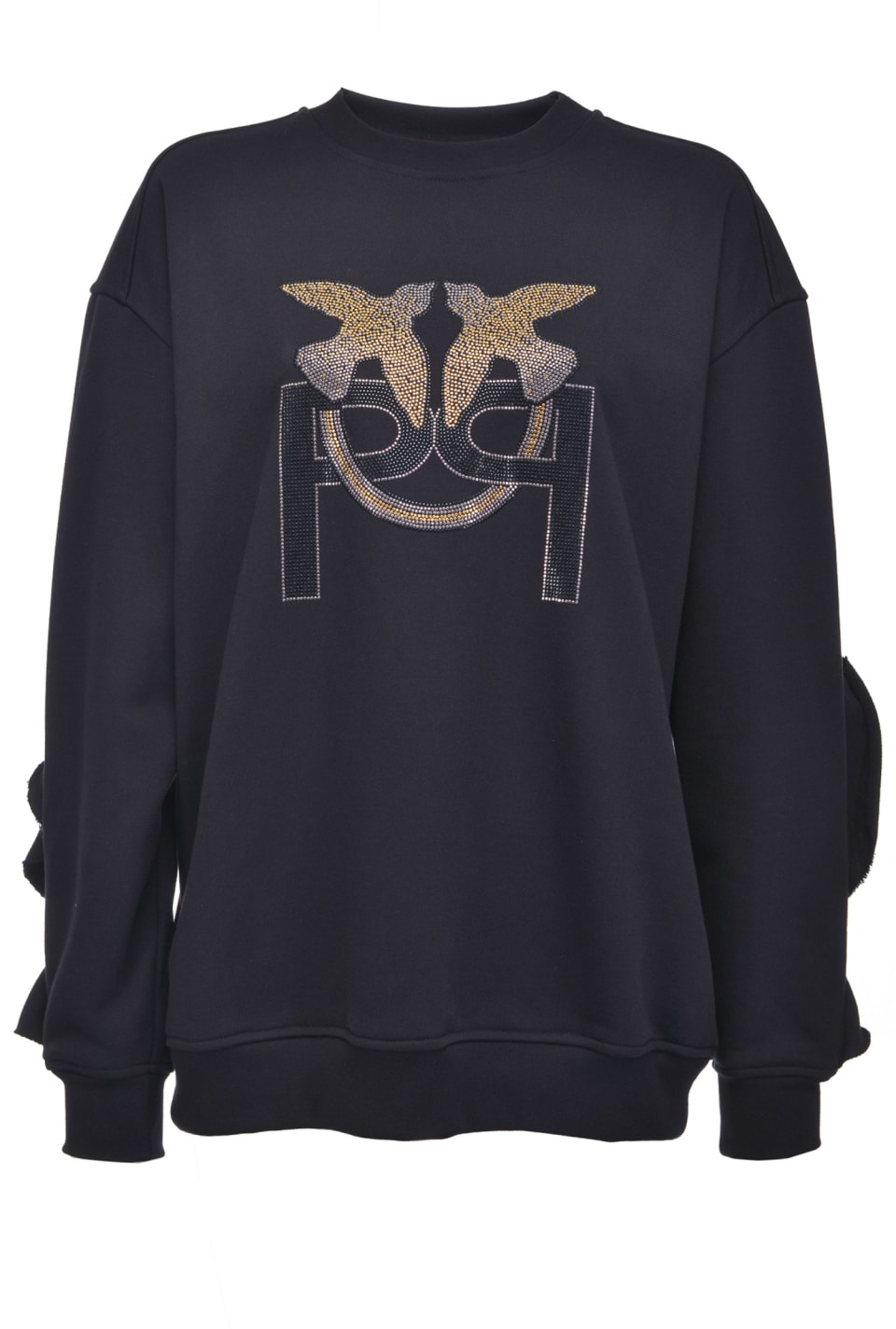 Oversized Monogram sweatshirt - Pinko