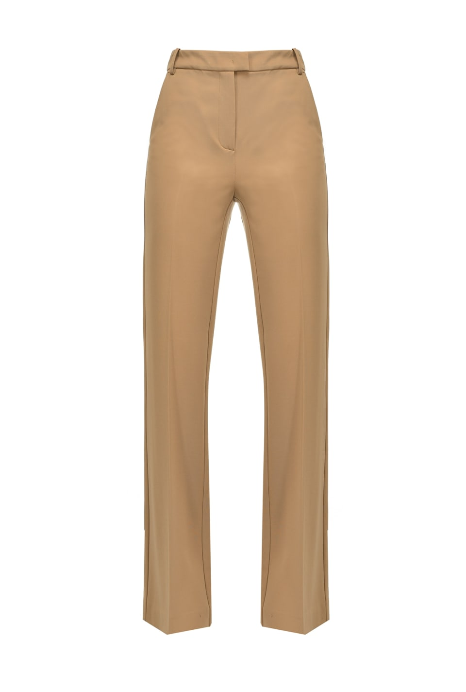 Scuba-effect flared trousers - Pinko