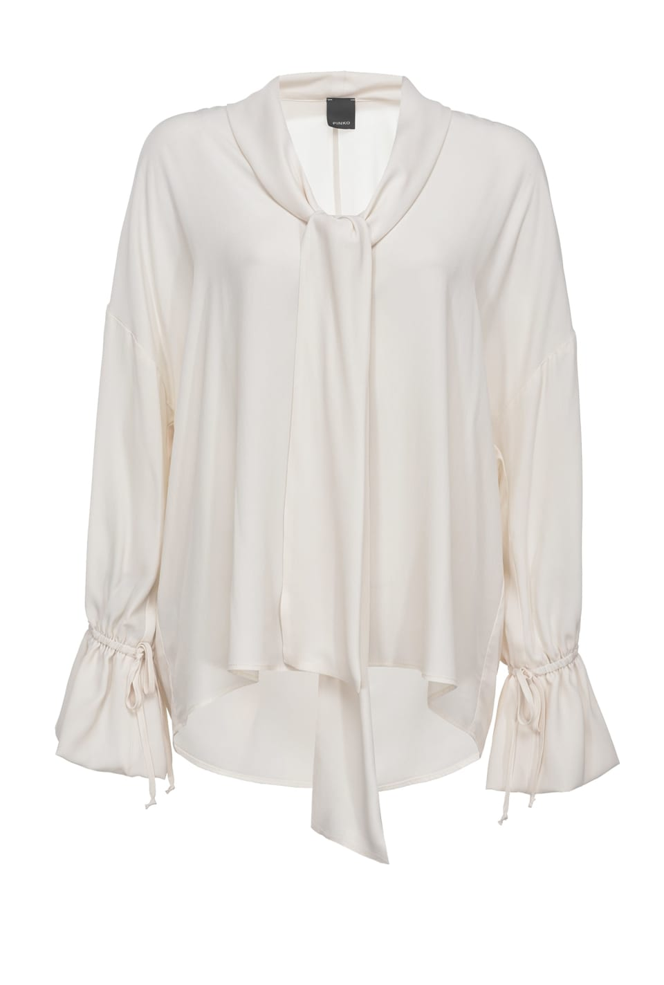 Silk blouse with sash - Pinko