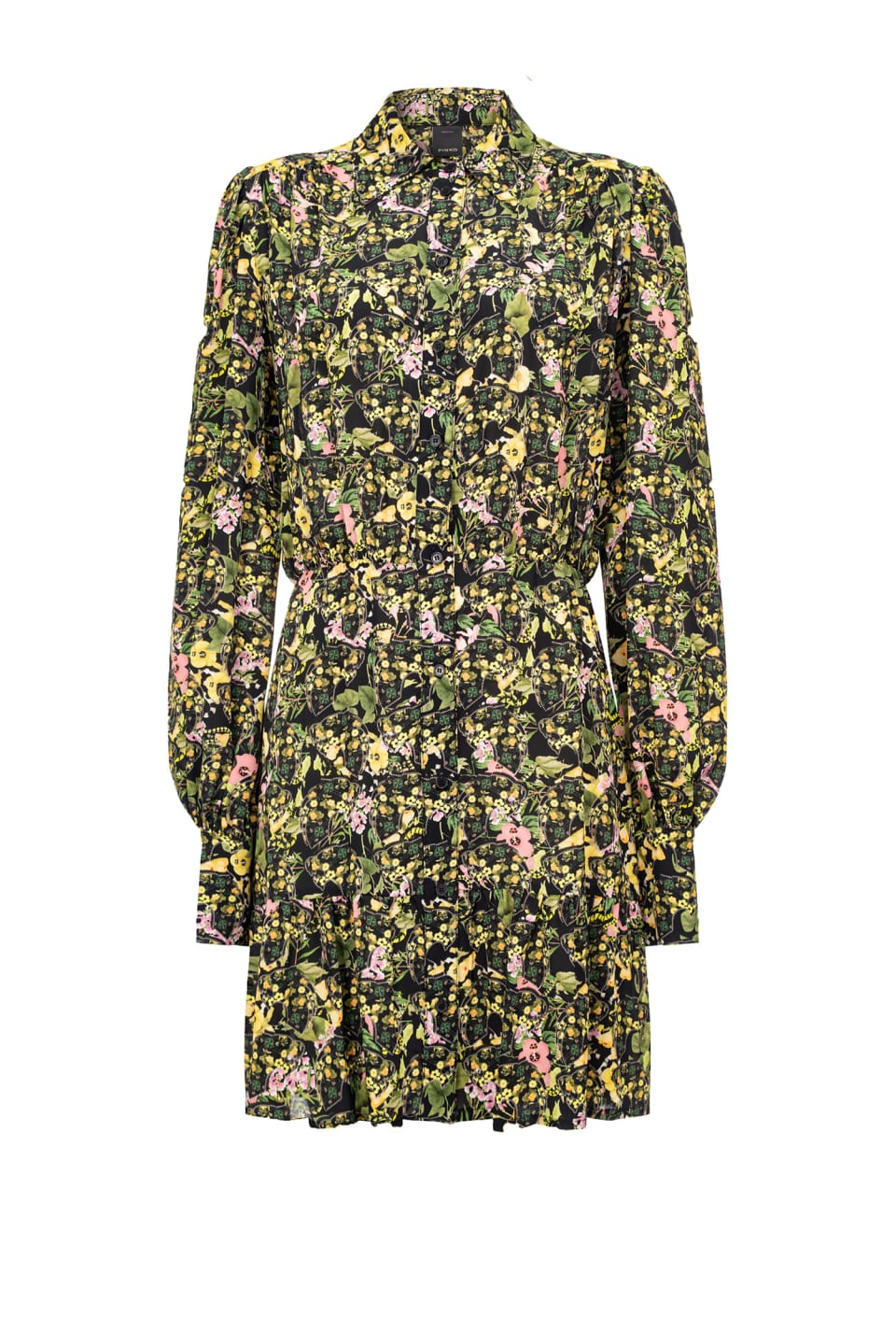Camouflage print shirtdress - Pinko