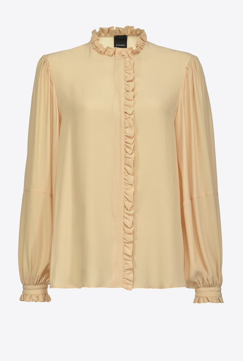 Blouse with ruffles - Pinko
