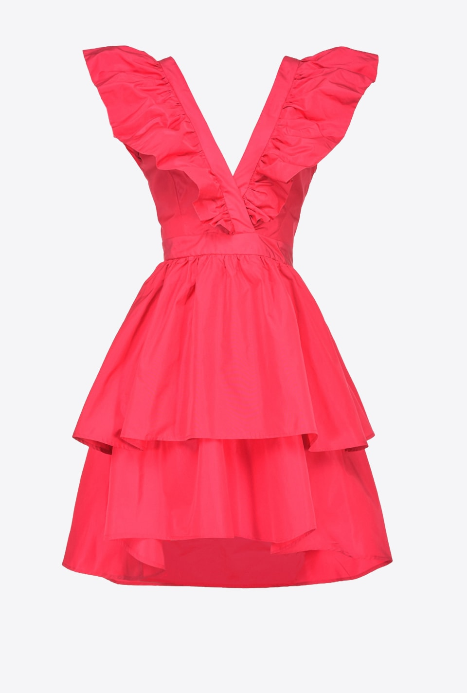 Short taffeta dress - Pinko