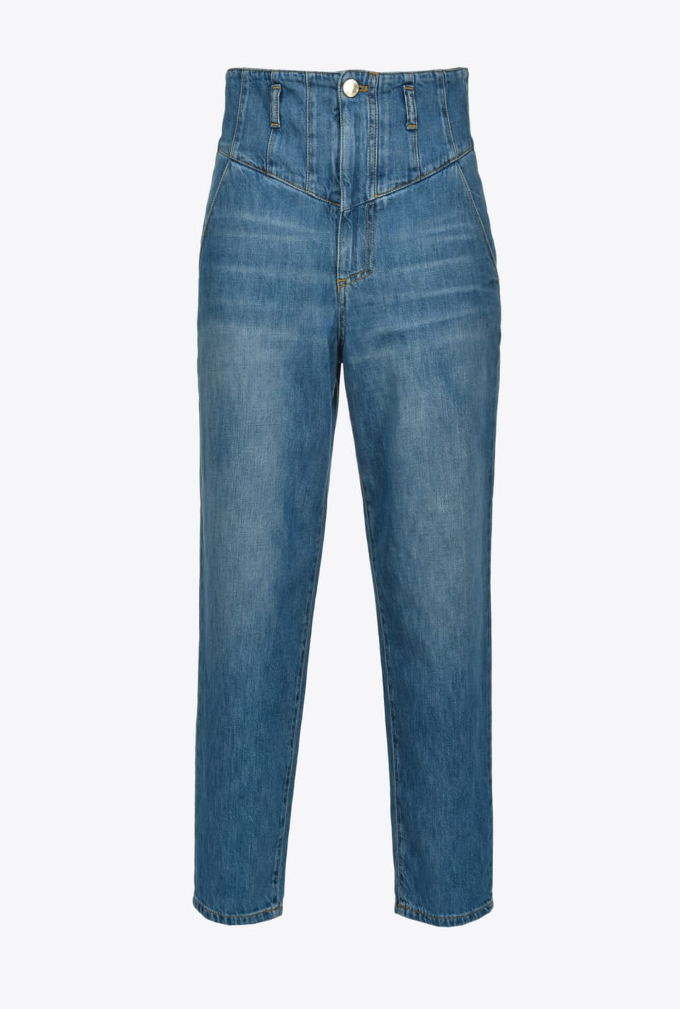 High-rise carrot-fit jeans - Pinko
