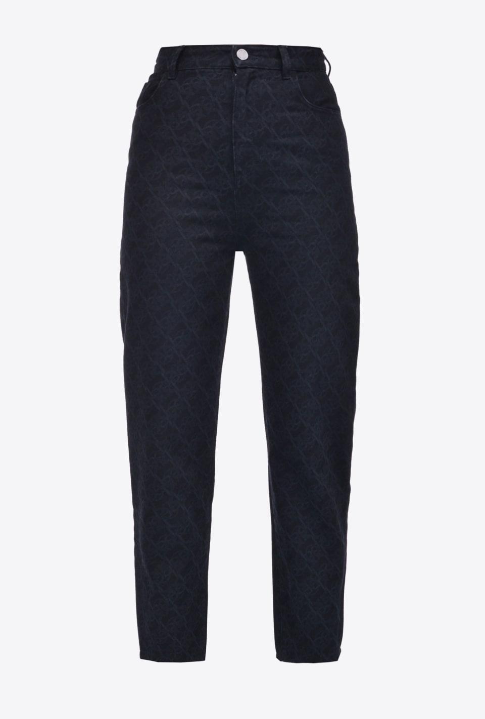 Jeans Monogram - Pinko